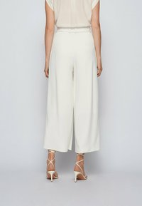BOSS - Trousers - natural - 5