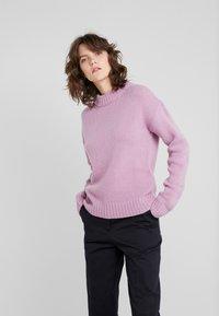 Filippa K - CORA - Strikkegenser - mid pink - 0
