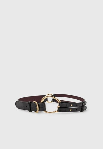 TRI STRAP CASUAL - Belt - black