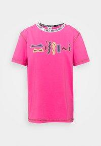 M Missoni - Print T-shirt - pink - 5