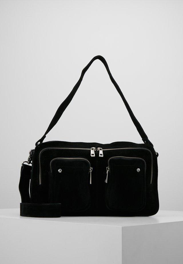 ALIMAKKA NEW SUEDE - Handväska - black