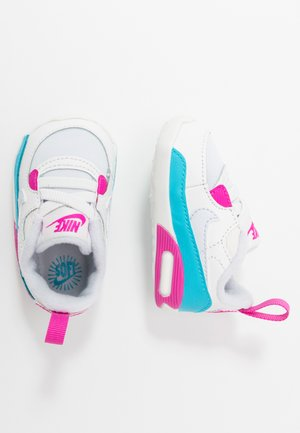 MAX 90 CRIB - First shoes - football grey/summit white/fire pink