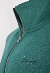 Superdry - Sweater met rits - forest green - 2