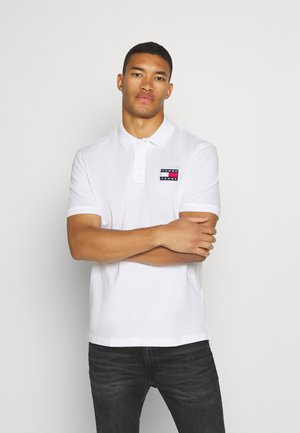 BADGE - Poloshirt - white