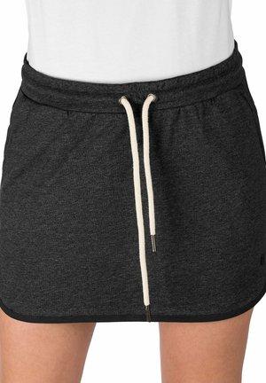 RAKEL  - Mini skirt - charcoal heather grey