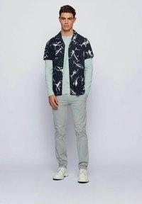 BOSS - Long sleeved top - light grey - 1