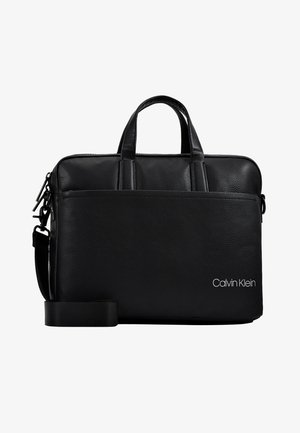 DIRECT SLIM LAPTOP BAG - Stresskoffert - black