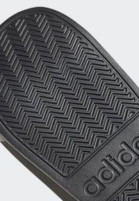 adidas Performance - ADILETTE SHOWER SLIDES - Badesandale - black - 8