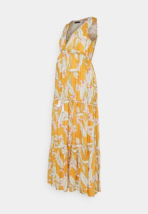 EXTRAVAGANZA - Maxi dress - ochre