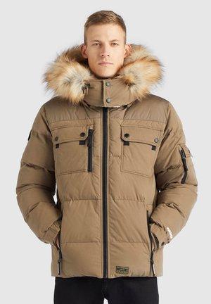 STUART - Winter jacket - khaki
