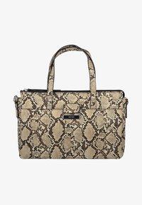 Gerry Weber - TASCHE TALK DIFFERENT SNAKE - Handbag - beige - 1