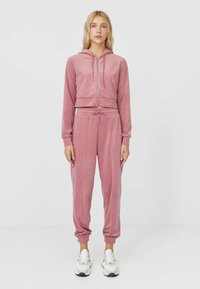 Stradivarius - Tracksuit bottoms - rose - 1