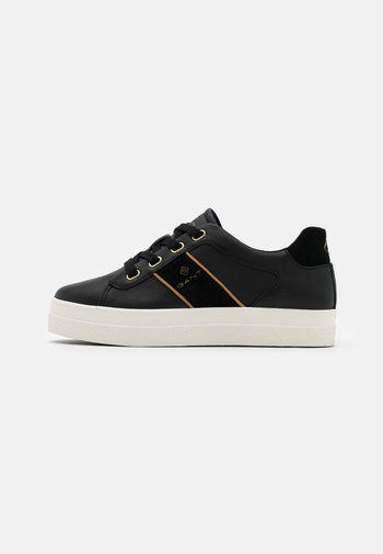 AVONA - Sneakersy niskie - black