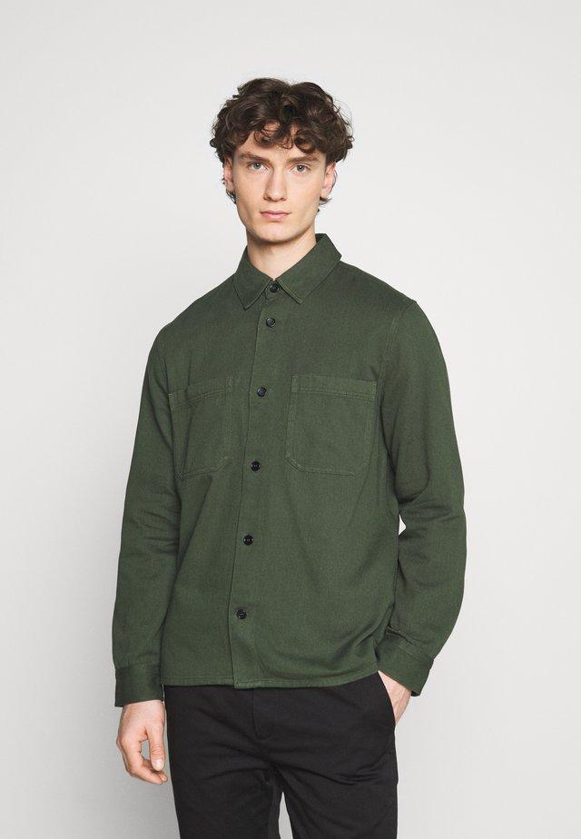 Shirt - green dark