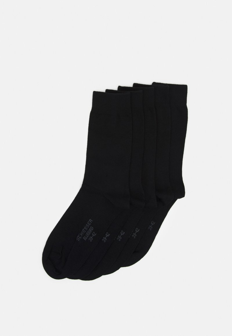 Schiesser - STAY FRESH 5 PACK - Socks - black