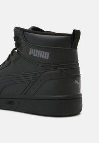 Puma - REBOUND JOY UNISEX - High-top trainers - black/castlerock - 4