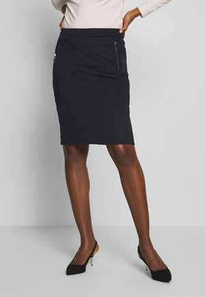 SKIRT - Pouzdrová sukně - ink blue