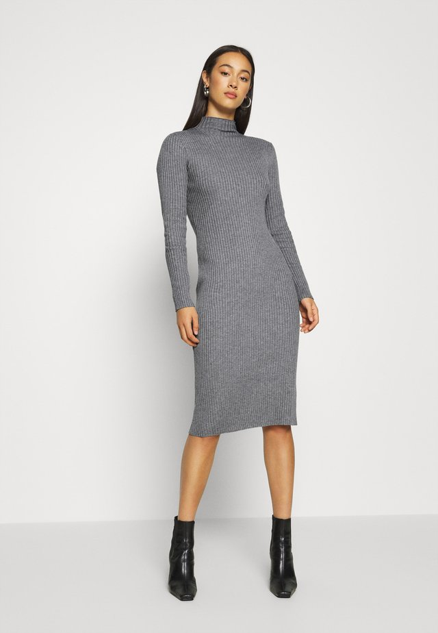 HADA DRESS - Etuikjoler - grey