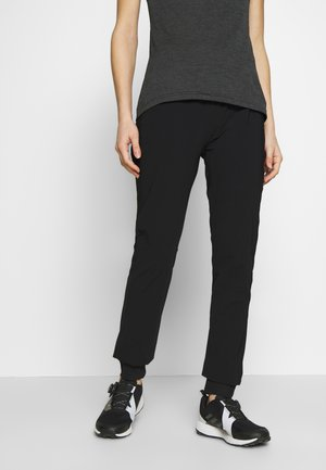 WOMAN LONG PANT - Pantalon classique - nero