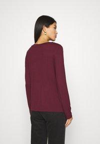 Anna Field - Long sleeved top - dark red - 2