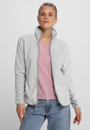 PINE LEAF - Fleece jacket - slate grey stripes