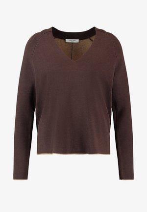 Pullover - dark chestnut