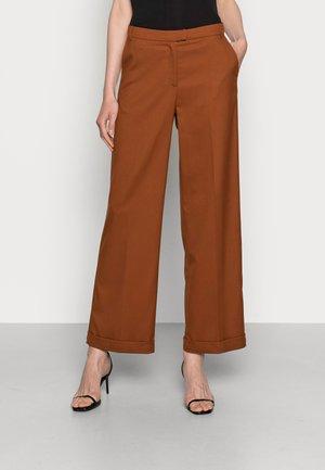 ETHEL PANTS STUART - Trousers - coconut brown