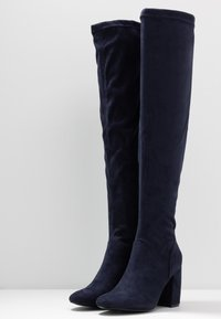 Anna Field - Over-the-knee boots - blue - 4