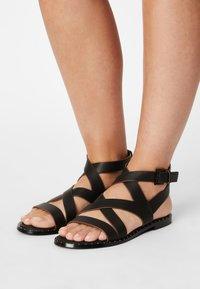Pepe Jeans - HAYES ROAD - Sandals - black - 0