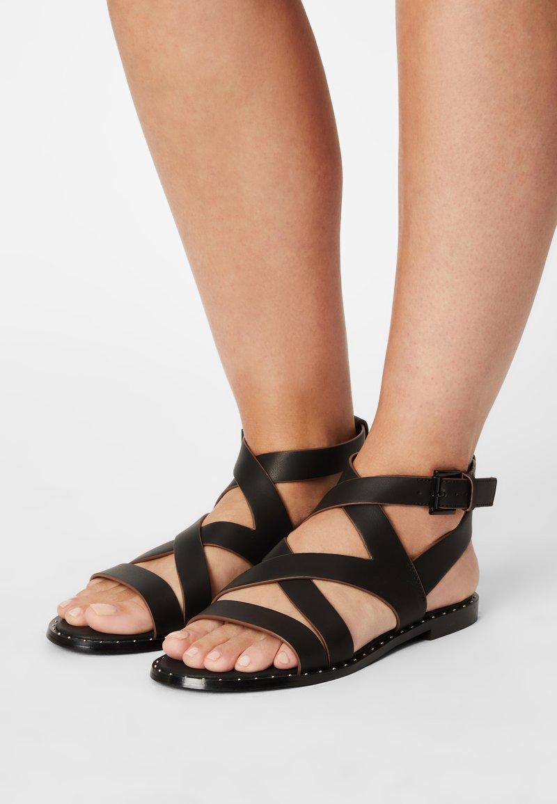 Pepe Jeans - HAYES ROAD - Sandals - black