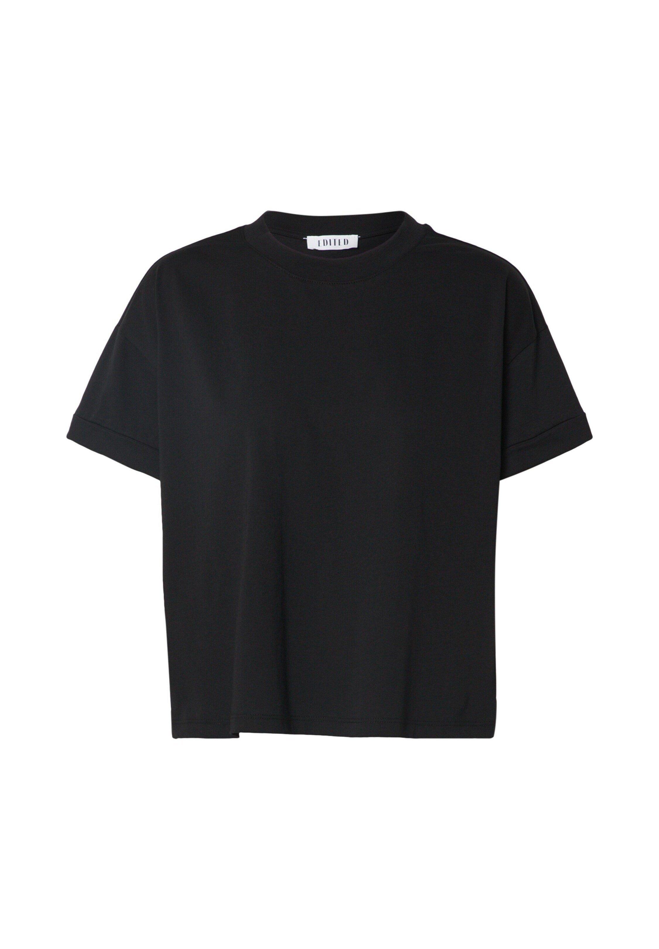 Edited Selena - T-shirts Black/svart