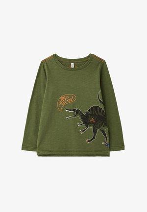 Camiseta de manga larga - grünes dino