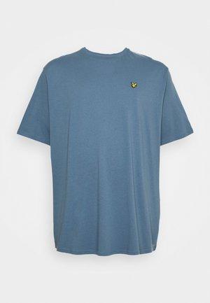 PLUS PLAIN - Jednoduché triko - slate grey