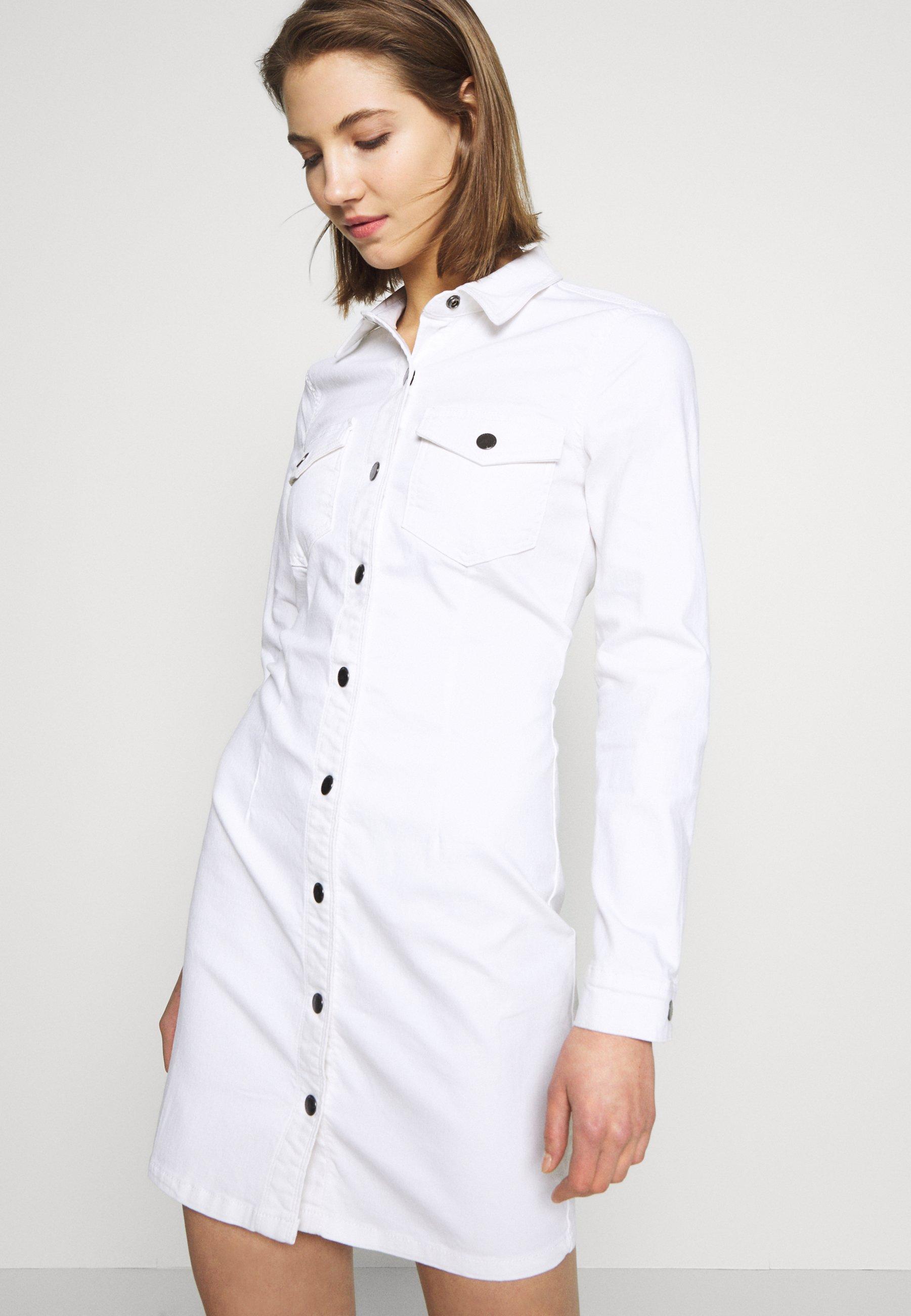 Women JDYSANNA DRESS - Denim dress