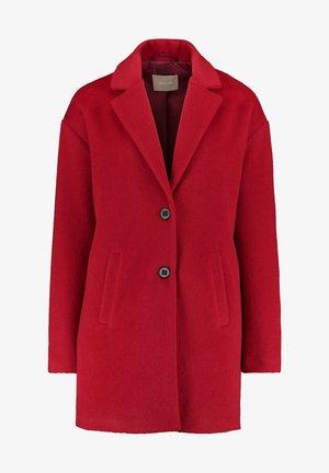 MIT EINGRIFFTASCHEN - Winter coat - rot