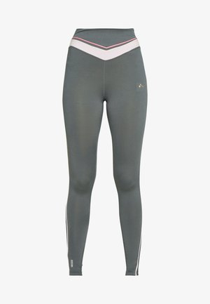 ONPJEWEL MESH TRAINING TIGHTS - Leggings - Trousers - turbulence