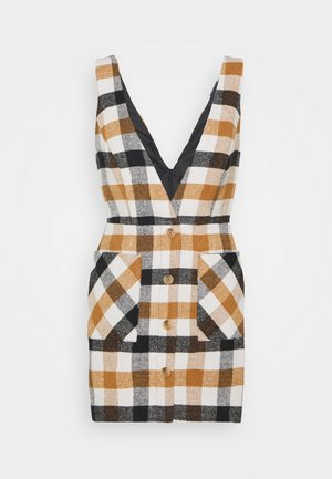 BRUSHED PINNY - Day dress - brown