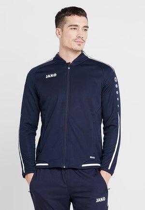 STRIKER - Zip-up hoodie - marine/weiß