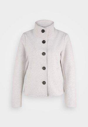 ONLVICTORIA HIGHNECK - Summer jacket - pumice stone