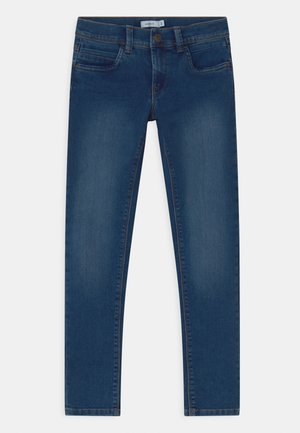 NKMSILAS - Jeans Slim Fit - medium blue denim