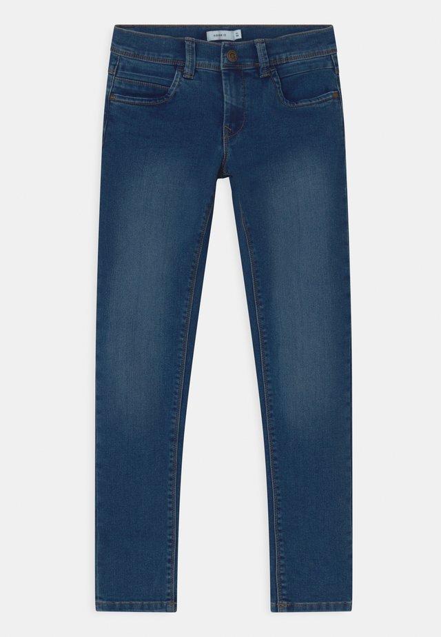 NKMSILAS - Slim fit jeans - medium blue denim