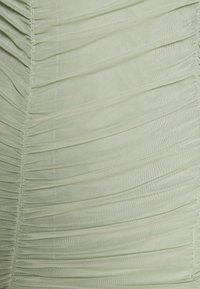 NA-KD - ZALANDO X NA-KD GATHERED BANDEAU DRESS - Day dress - dusty green - 5