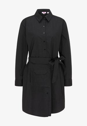 Košilové šaty - schwarz