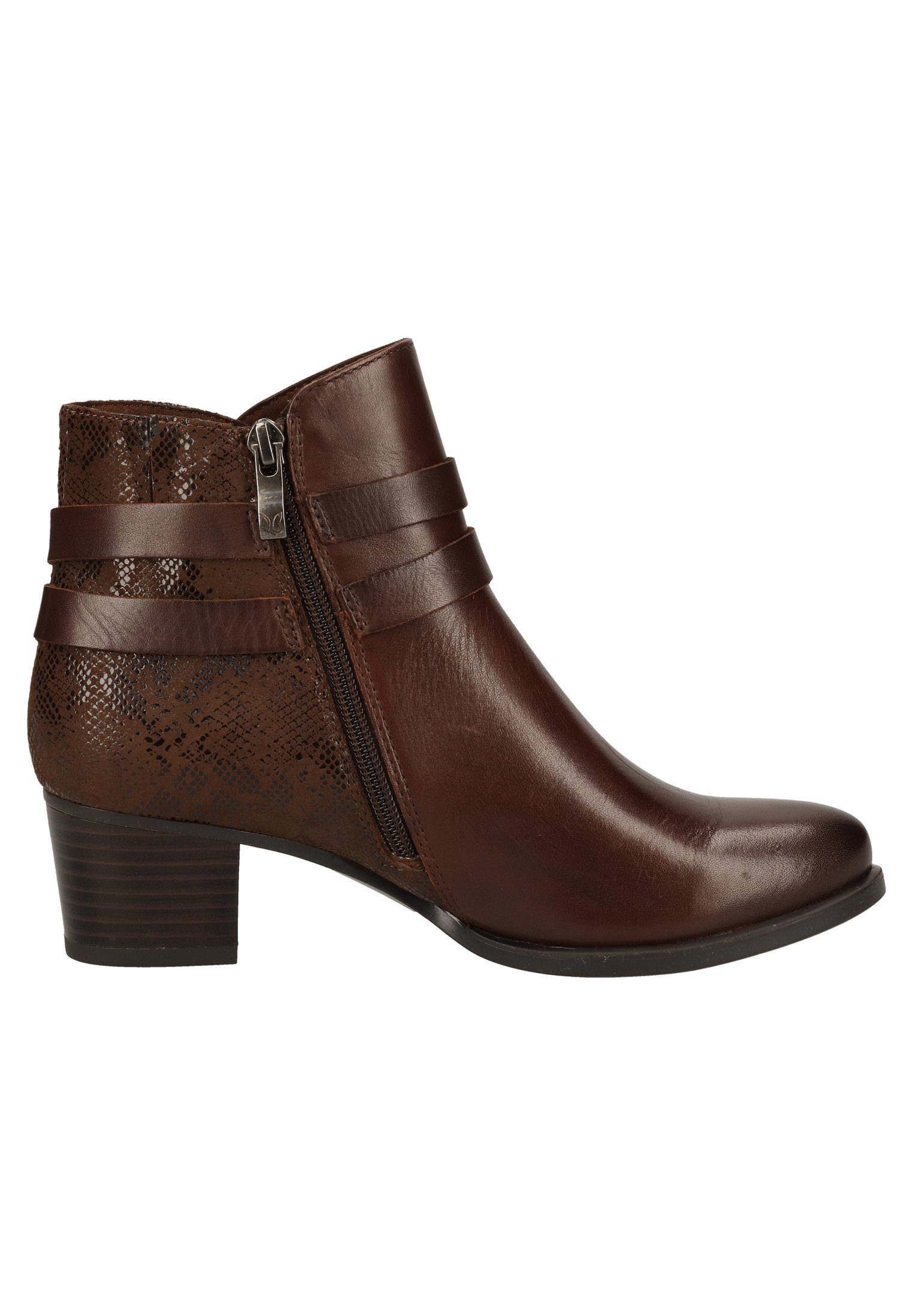 Caprice Ankle Boot dk brown nappa 337/dunkelbraun