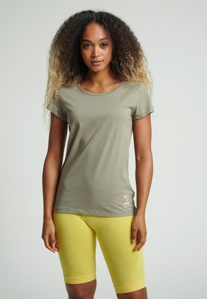 SCARLET - Basic T-shirt - vetiver