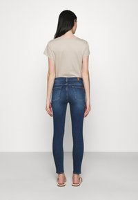 7 for all mankind - HIGH WAIST CROP - Jeans Skinny Fit - mid blue - 2