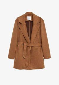 Violeta by Mango - CLARA - Short coat - bruin - 5