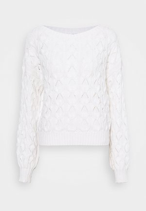 ONLBRYNN LIFE PULLOVER - Jumper - cloud dancer