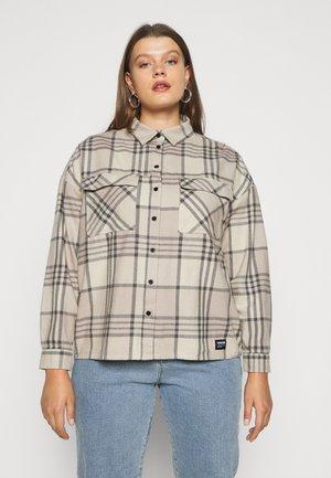 NATHALIE - Button-down blouse - cashew