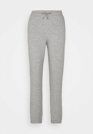 KARDI CUFF TROUSERS - Tracksuit bottoms - grey dusty light